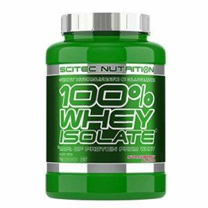 Scitec Nutrition 100% Whey Isolate protéine fraise 2000 g