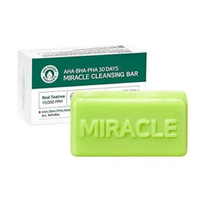 [SOME BY MI] AHA. BHA. PHA 30 Days Miracle Cleansing Bar 95 g