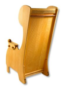 Sound chair with monochord