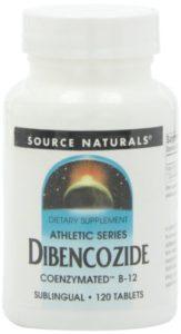 Source Naturals – Athletic Series Dibencozide Coenzymated B-12 120 Sublingual Comprimés