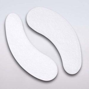 Tampons Oculaires Extension de Cils sans Peluche Gel Pads Yeux Gel Patchs – 100