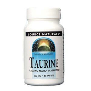Taurine – 500 mg – 60 comprimés