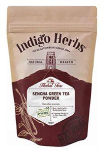 Thé Vert Sencha en poudre (Camellia Sinensis) – 100g (Qualité assurée)
