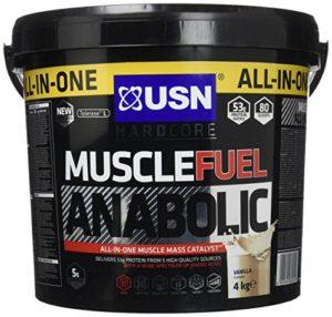 USN Muscle Fuel Anabolique pour Musculaire Sèche Vanille 4 kg