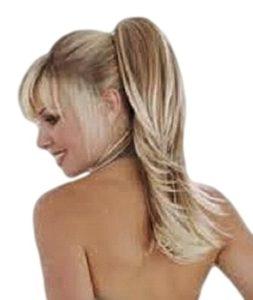 VANESSA GREY Toutes les couleurs disponibles, Extension De Cheveux (postiche) Queue De Cheval, à Enrouler Autour Des Attaches Pour Les Dissimuler, Dans Notre Fameux Mélange De Blonds Cendrés.