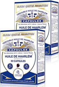 Véritable Huile de Haarlem, lot de 2 x 60 capsules originales (2)