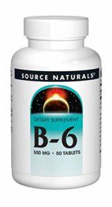 Vitamine B6 – 500 mg – 50 comp. – avec une distribution retardée