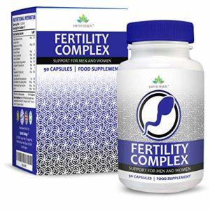 Vitamine de Fertilité – Complément pour Hommes et Femmes – Avec Zinc, Magnésium, Fer, Calcium, Biotine, Vitamines B C D3-90 Capsules (3 Mois d'Approvisionnement) de Earths Design