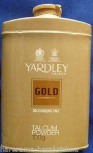 Yardley London Gold Deodorizing Talc Talcum Powder Men 100gm by Yardley London Gold Deodorizing Talc