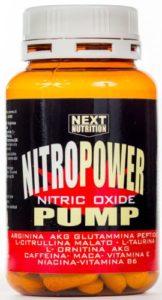 1 boîte NITRO POWER PUMP 120 comprimés stimulant l'oxyde nitrique, GH, par: arginine AKG, glutamine peptide, la citrulline, la taurine, ornithine AKG, la vitamine C, la caféine, la Maca, la vitamine E, niacine, vitamine B6