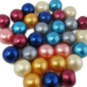 20 Perles de Bain Rondes – Assortiment de senteurs et Couleurs