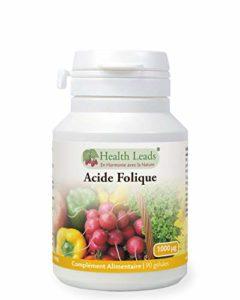 Acide folique x 90 gélules