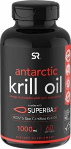 |Antarctic Krill Oil 1000mg with Astaxanthin || 60 Liquid Softgels – 2 Month Supply|