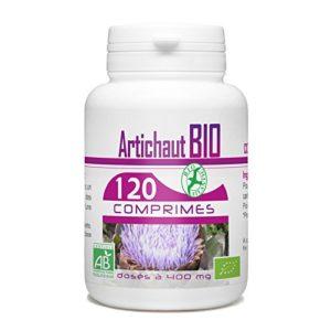 Artichaut Bio (Cynara scolymus) – 400 mg – 120 comprimés