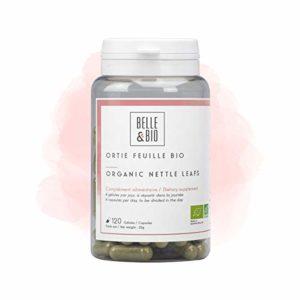 Belle&Bio – Ortie Feuille Bio – 120 gélules – 820 mg/jour – Articulation – Certifié Bio par Ecocert – Fabriqué en France