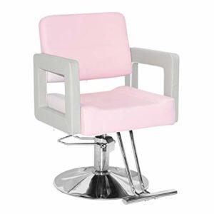 Chaise De Coiffure Chaise De Travail Equipement De Coiffure Chaise Hydraulique/Pu Chaise/Ascenseur Base Carrée Coiffure Spa Salon Beauté Barber Chair,A