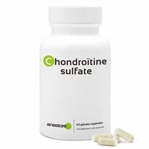 CHONDROÏTINE SULFATE * 400 mg / 60 gélules * Articulations (douleurs articulaires, inflammation) * Garantie Satisfait ou Rembours * Fabriqué en France