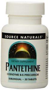 Coenzyme de vitamine B5 – Pantethine – 25 mg