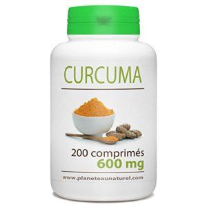 Curcuma – 600 mg – 200 comprimés