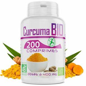 Curcuma Bio – 400mg – 200 Comprimés