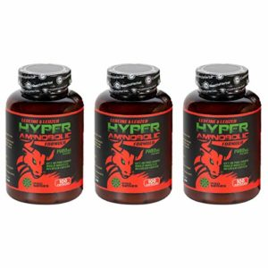 Cvetita Herbal, Hyper Aminobolic x 3 Paquet, Leuciné & Leuzea, 300 gélules | BCAA Acide aminé Leucine et Leuzea | Entrer dans PRO Forme | Combinaison anabolique unique pour des résultats naturels maximums | Récupérer plus vite, construire des muscles | Supplément d'acide aminé essentiel de leucine | Haute résistance