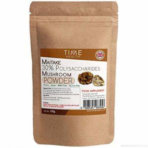 Extrait de Champignon Maïtaké en Poudre 100g – 30% de Polysaccharides – San Additifs (100 g – poche)