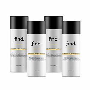 FIND – Démaquillant waterproof pour les yeux ( 4 x 150 ml )