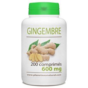 Gingembre – 600 mg – 200 comprimés