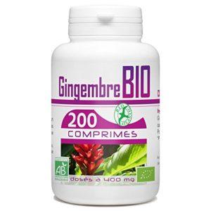 Gingembre Bio – 400 mg – 200 comprimés