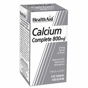 HealthAid HealthAid Calcium Complete 800mg – 120 Comprimés vegan