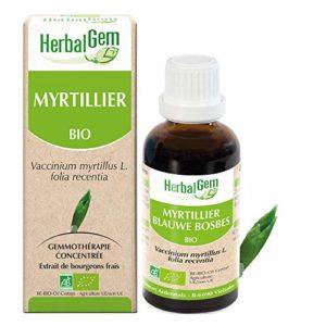 HerbalGem Macérats-Mères de Gemmothérapie Concentrée Myrtillier Bio