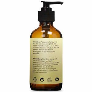 Huile anticellulite – Ingrédients raffermissants naturels pour réduire les vergetures. Un massage nourrissant à l'huile d'argan et aux huiles essentielles qui raffermit la peau. Bioniva (1 x 236 ml)