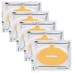 Hydratant Collagène Masque de Lèvres Exfoliation Nourrissant Patch Lèvres 50pcs