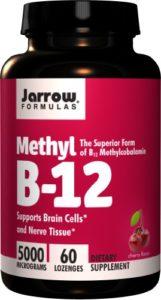Jarrow Formulas, Methyl B-12, 5000 mcg, 60 Pastilles