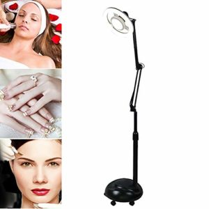 Lampe Esthétique avec Roulettes Pivotantes dans la Base Eut Ajouter de l'eau dans pour Salon de Beauté, Point de Tatouage, Laboratoire,24W