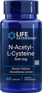 Life Extension – N-Acetyl-L-Cysteine 600 mg – 60 Capsules Végétales
