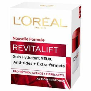L'Oréal Paris – Revitalift – Soin Yeux Hydratant – Anti-Rides & Extra-Fermeté – Anti-Âge – 15 mL