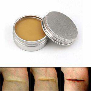 Lucoss 50g Cire De Maquillage pour des Effets Spéciaux Maquillage Théâtral Et Halloween Fun sur Le Thème Partie Faux Cicatrice Wound Peau De Cire