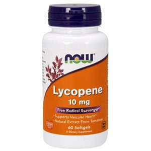 Lycopene 10 mg – 60 gélules liquides – Now foods