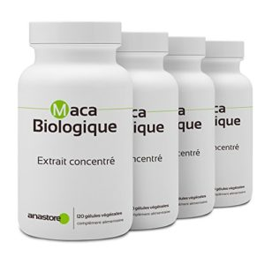 MACA BIO SPECIAL PACK 3+1 GRATUIT * 500 mg / 480 gélules végétales * Extrait concentré 4:1 * Energie, Équilibre émotionnel, Vitalité