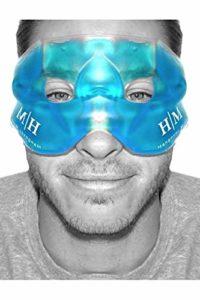 Masque Gel Premium réutilisable à chaud ou à froid: aide à apaiser les visages bouffis, les cernes, les yeux fatigués, les maux de tête, les migraines, les lendemains de fête
