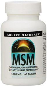 MSM – Méthylsulfonylméthane – 1000 mg – 60 comprimés