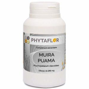 Muira Puama Phytaflor 250 mg en gélules – . : 1 boite de 300 gélules