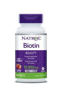 Natrol Biotin Fast Dissolve Standard Vitamine 60 10000 mcg