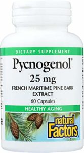 Natural Factors, Pycnogenol, 25 mg, 60 Capsules