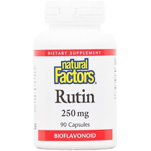 Natural Factors, Rutin, 250 mg, 90 Capsules