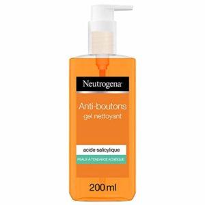 Neutrogena Vclear Spot Proof Gel Nettoyant Quotidien Pompe 200 ml