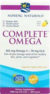 Nordic Naturals–Complete Omega, prend en charge Peau saine, les articulations, et Cognition, 180gels doux, 1000mg