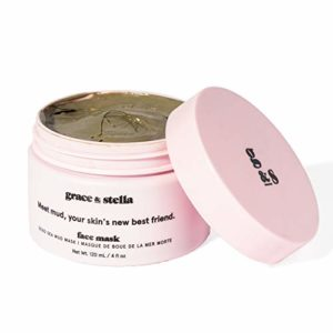 *NOUVEAU* Masque de boue de la Mer Morte 200g – le nettoyage des pores profonds, le traitement de l'acné sur visage et corps. Purifie les toxines et impuretés, élimine cellules mortes et excès huile