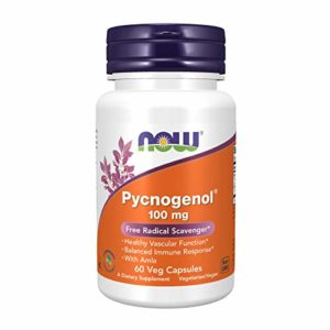 Now Foods Pycnogenol, 60 vcaps 100 mg